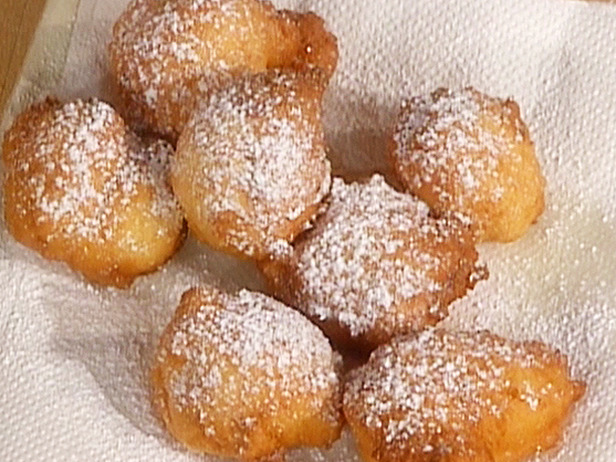 Ricotta and Rum Fritters